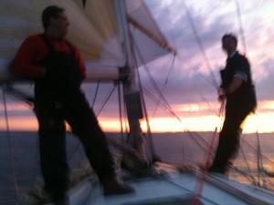 Going Yachting Sundown